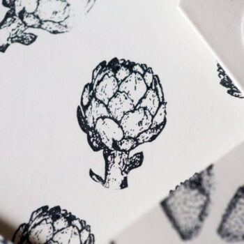 Artichoke Mini Stamp