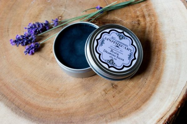 Black Drawing Salve - With Lavender