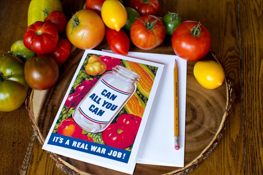 Can all You Can Greeting Card