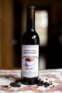 Custom Coffee Liqueur Labels - Espresso Liqueur