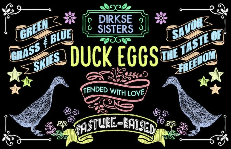 custom duck egg carton labels