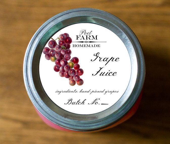 Grape Jelly, Jam, Preserves