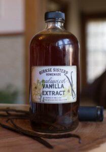 custom homemade vanilla extract labels
