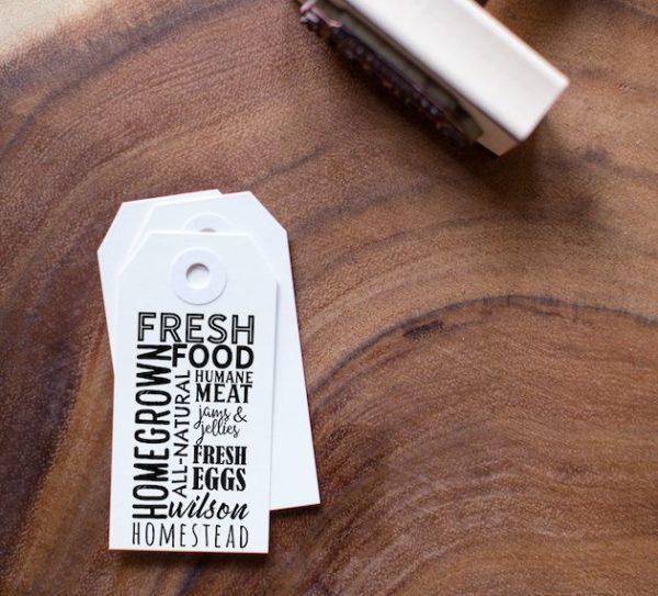 Customizable Farm Stamp
