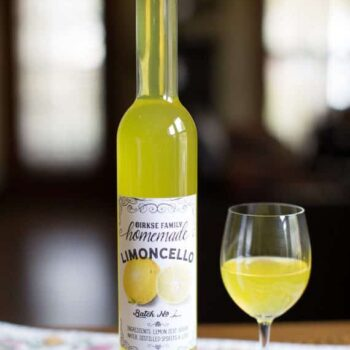 Customized Limoncello Labels