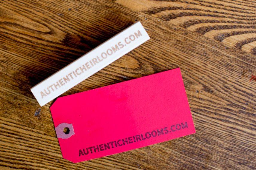 Customized URL Stamp