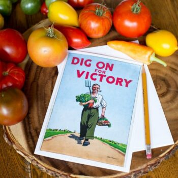Dig On for Victory Greeting Card