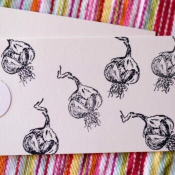 garlic stamp