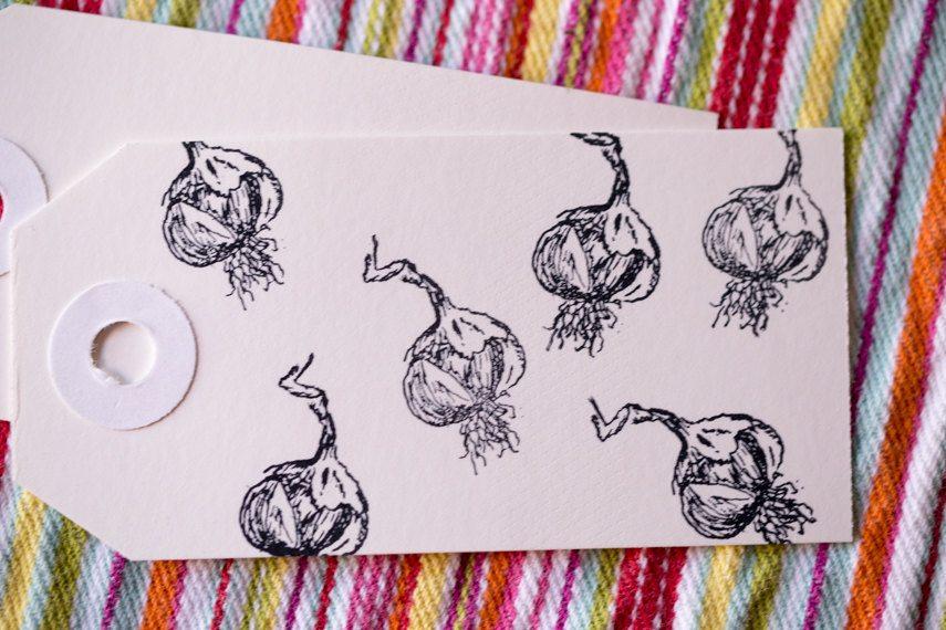 garlic stamp