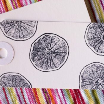 grapefruit stamp