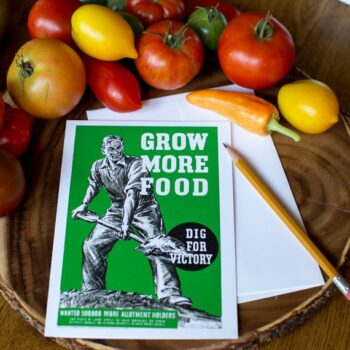 Grow More Food Greeting Card