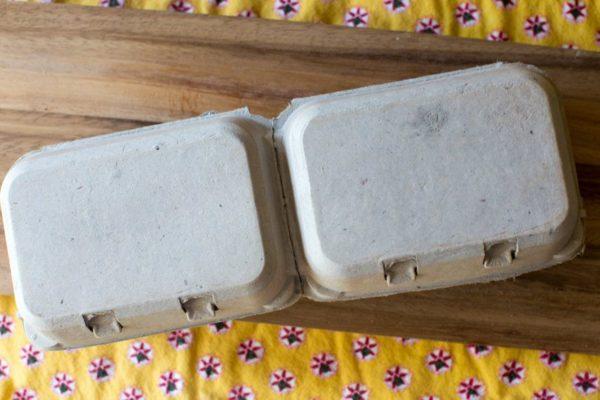 Half Dozen Egg Cartons - Recycled