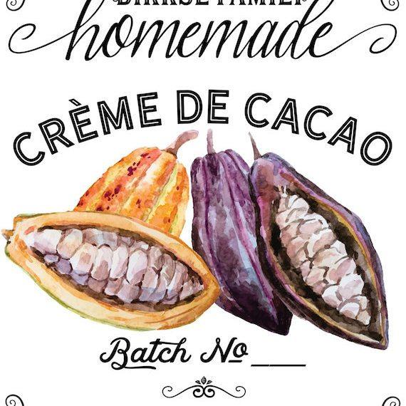 how to make creme de cacao liqueur