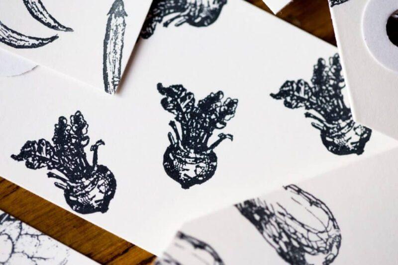 kohlrabi stamp