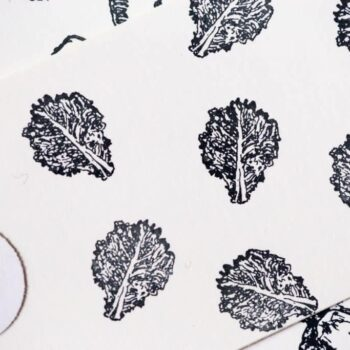 mustard leaf stamp
