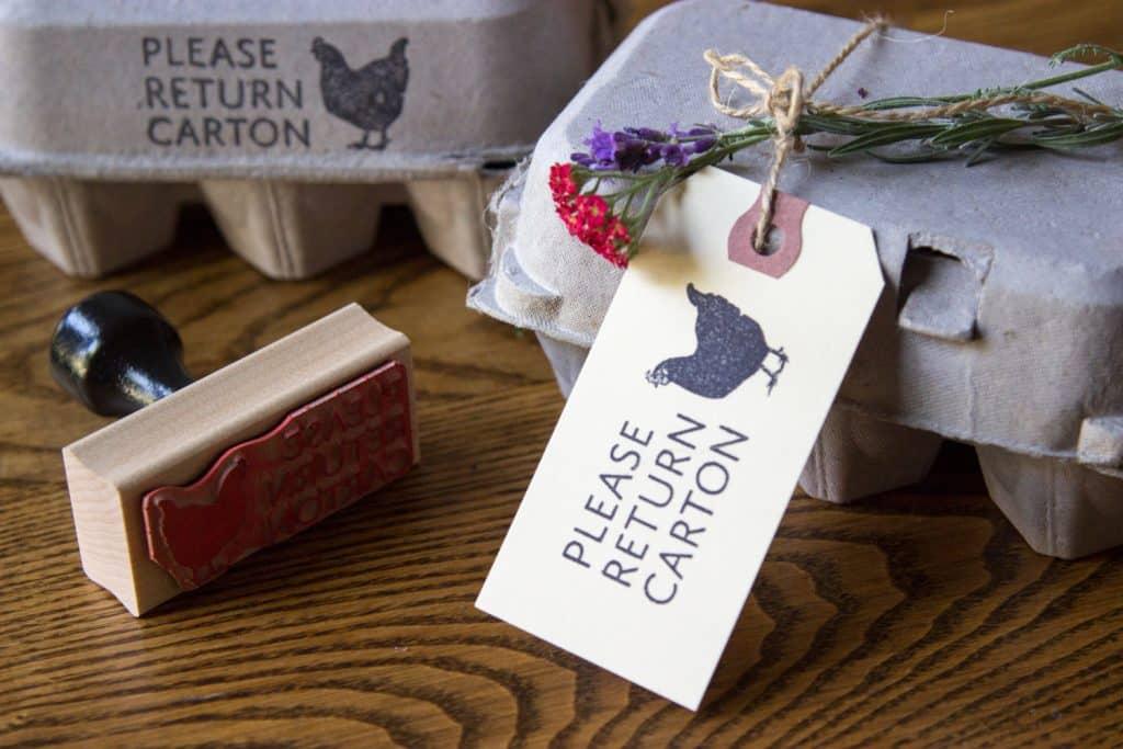 Please Return Carton Stamp - Australorp