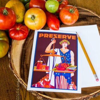Preserve Greeting Card