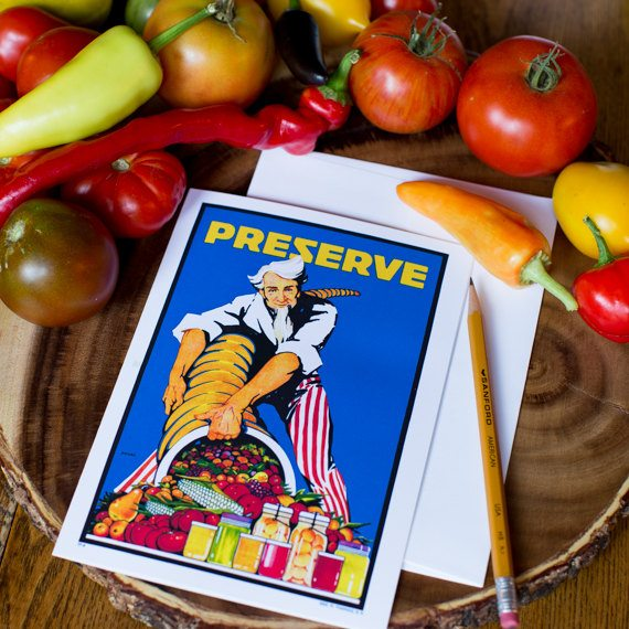 Preserve Greeting Card Uncle Sam