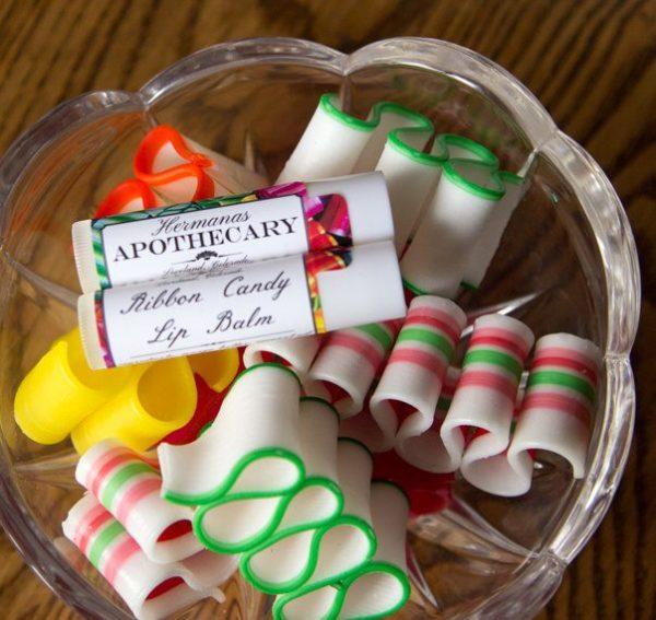Ribbon Candy Lip Balm