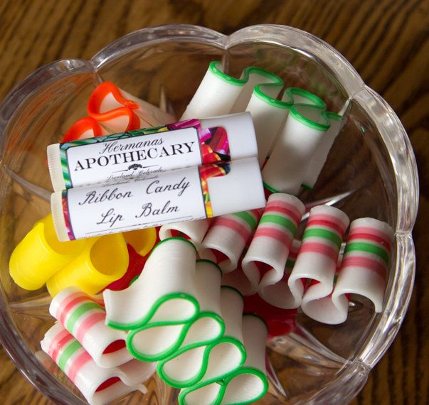 Ribbon Candy Lip Balm