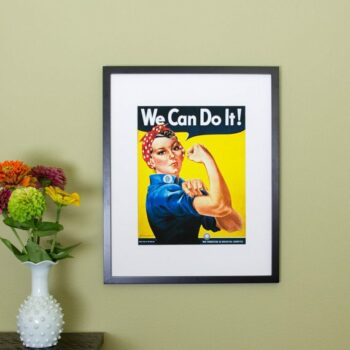 Rosie the Riveter Poster - We Can Do It