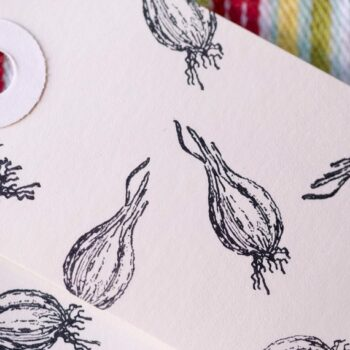 mini shallot stamp