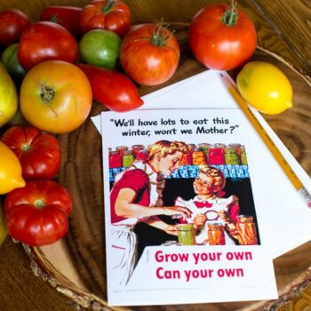 We'll Have Lots to Eat this Summer, Won't We Mother - Greeting Card