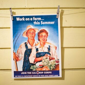 Work on a Farm this Summer - Vintage Poster