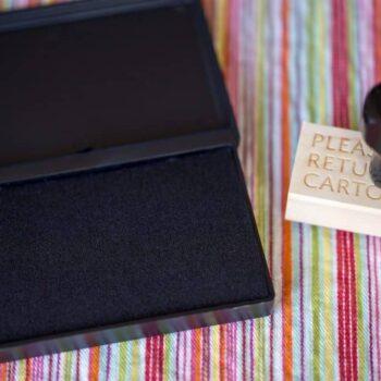 Please Return Carton Stamp - Duck Cartons