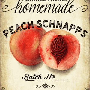 Peach Whiskey, Liqueur Customizable