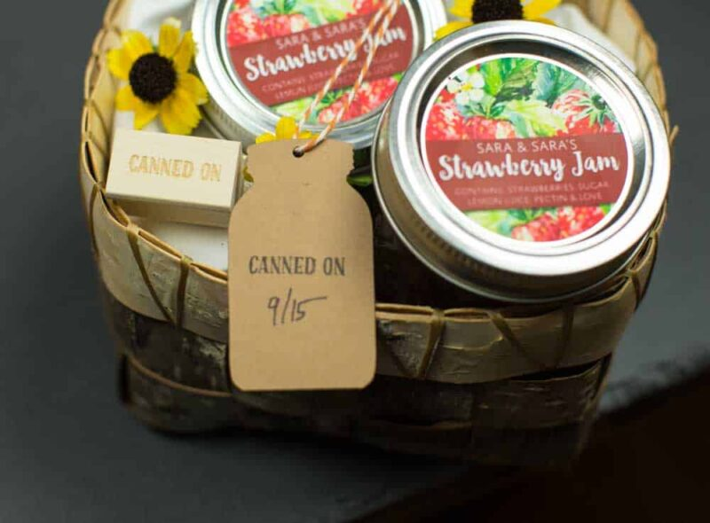 Canned On Mini Stamp Homesteader Gift