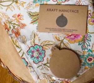 Christmas Ornament Gift Tag – Kraft