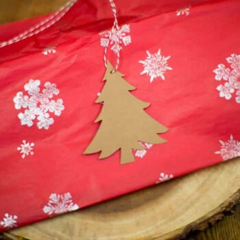 Christmas Tree Hang tag
