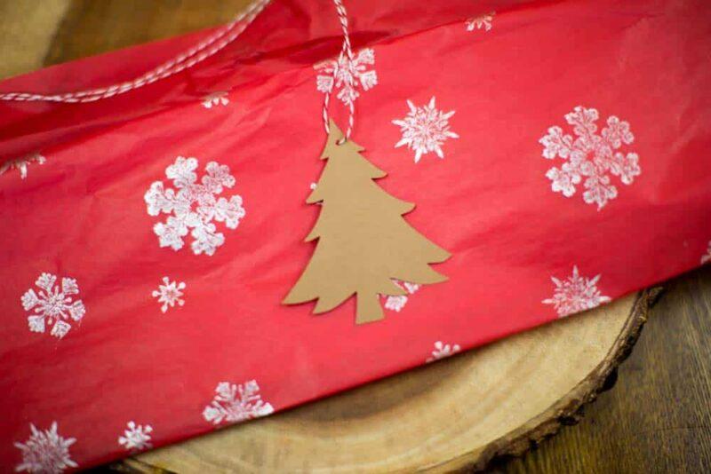 Christmas Tree Hang tag