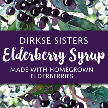 Elderberry Syrup Custom Label