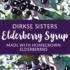 Elderberry Syrup Custom Label