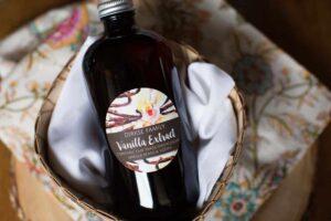Homemade Vanilla Label - Watercolor