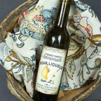 Pear Liqueur Label
