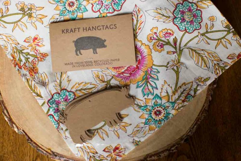Pig Hang Tags - Farm Gift Tags