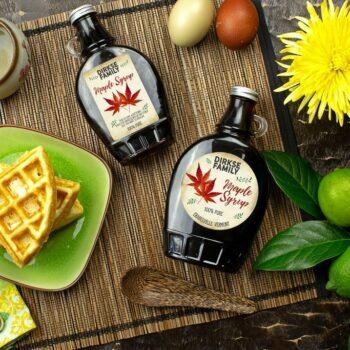 Vintage Style Maple Syrup Labels