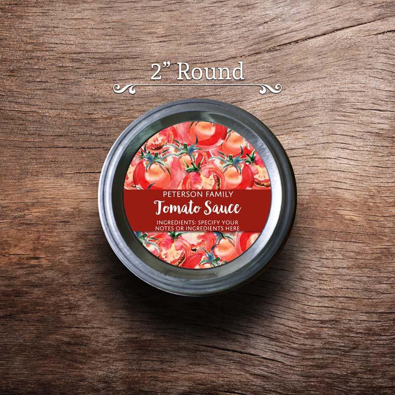 2 inch Round (Regular Mouth)