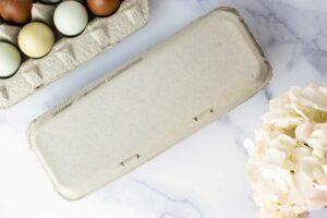 Full Dozen Flat Top Egg Carton